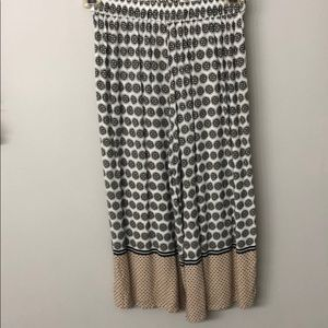 Forever 21 printed culottes